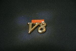 画像5: エンブレム ゴールドメッキ【ニッサン シーマY33】リア2点セット(Cima、V8)