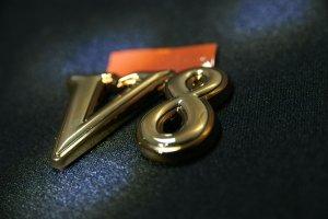 画像4: エンブレム ゴールドメッキ【ニッサン シーマY33】リア2点セット(Cima、V8)