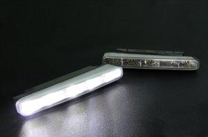 画像2: アドミレイション【クリスタルハイパー3WAY LEDデイライトキット】汎用タイプ