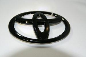 画像1: 【ブラック塗装エンブレム】 トヨタ マジェスタ18系  フロントグリル用トヨタマーク