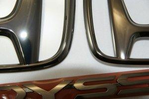 画像3: 【カラーメッキエンブレム】ホンダ RB3オデッセイ 3点セット (フロントHマーク、リアHマーク、ODYSSEYロゴ)