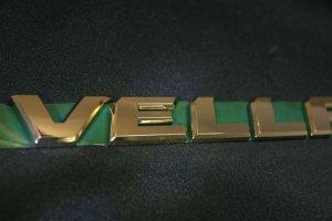 画像3: 送料無料 ゴールドメッキエンブレム 【トヨタ ヴェルファイア20系 前期/後期共通】 4点セット フロントグリル用オーナメント、リアトヨタマーク、ヴェルファイア文字、V6