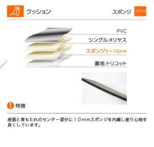 画像5: 【ホンダ N-BOX プラス JF1/JF2】Clazzio・クラッツィオ 車種専用シートカバー キルティングタイプ 1台分セット