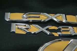 画像5: レクサスエンブレム3点セット 【30系ハリアー 後期 】 正規ディーラー品  クローム リアレクサスLマーク・RX350・LEXUSロゴ