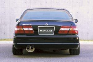 画像4: WALD【ニッサン シーマ Y33】ヴァルド・エグゼクティブライン エアロパーツ3点キット/単品 フロントスポイラー・サイドステップ・リアスカート