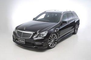 画像1: WALD【Mercedes Benz E-Class W212ワゴン 2011〜 前期】ヴァルド エアロパーツ Sports Line Black Bison 3点KIT/フロントバンパースポイラー・サイドステップ・リアバンパースポイラー他