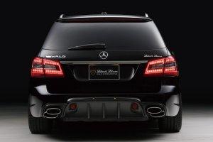 画像3: WALD【Mercedes Benz E-Class W212ワゴン 2011〜 前期】ヴァルド エアロパーツ Sports Line Black Bison 3点KIT/フロントバンパースポイラー・サイドステップ・リアバンパースポイラー他