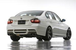 画像3: エアロパーツ3点KIT 【BMW 3シリーズ E90/E91 セダン 〜'08y】 WALD・ヴァルド SPORTS LINE・スポーツライン フロントバンパースポイラー・サイドステップ・リアバンパースポイラー