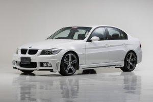 画像2: エアロパーツ3点KIT 【BMW 3シリーズ E90/E91 セダン 〜'08y】 WALD・ヴァルド SPORTS LINE・スポーツライン フロントバンパースポイラー・サイドステップ・リアバンパースポイラー