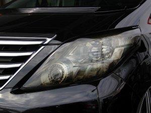 画像1: SIXTH SENSE【トヨタ アルファード 20系 前期・後期】シックスセンス ヘッドライトカバー (グラデーション) 左右セット