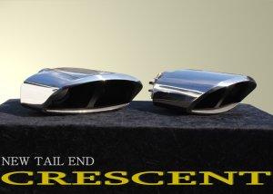 画像1: モードパルファム 【マフラーカッター CRESCENT・クレセント L/R】 テールエンド 左/右