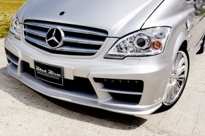 画像4: ブラックバイソンエデイション 【Mercedes Benz・ベンツ  V-Class W639 ショート '12y〜】 WALD・ヴァルド エアロパーツ Sports Line Black Bison Editon 3点KIT/単品 フロントバンパースポイラー・サイドステップ・リアバンパースポイラー・フェンダーフィン・他