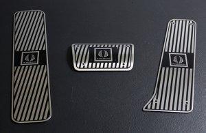 画像1: AIMGAIN【トヨタ ヴェルファイア GGH/ANH20系】エイムゲイン FOOT PEDAL・フットペダル 3点セット