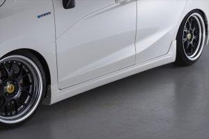 画像4: エアロパーツ 【ホンダ フィット ハイブリッド GP5・GP6】 AIMGAIN・エイムゲイン HYBRID EXE フロントハーフ・サイドステップ・リアハーフ・スタイリッシュグリル・マフラー・他