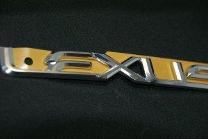画像3: レクサス【クロームメッキ LEXUS・レクサス ロゴ 大 200mm×24mm】正規ディーラー品