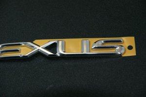 画像4: レクサス【クロームメッキ LEXUS・レクサス ロゴ 大 200mm×24mm】正規ディーラー品