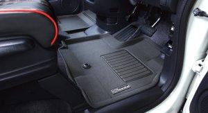 画像2: 【ダイハツ タント LA600S】Clazzio・クラッツィオ 車種別専用立体マット  スマートタイプ 1台分セット