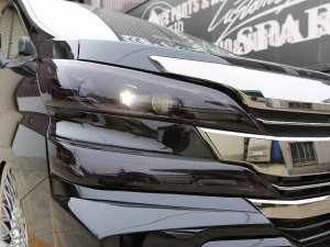 画像2: SIXTH SENSE【トヨタ ヴェルファイア 30系】シックスセンス ヘッドライトカバー (モーク)左右セット