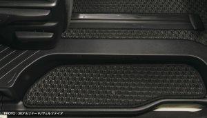画像4: ラバーフロアマット【トヨタ アルファードANH・GGH20系】Artina・アルティナ 車種別専用 1台分+ステップマツト
