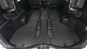 画像3: ラバーフロアマット【トヨタ アルファードANH・GGH20系】Artina・アルティナ 車種別専用 1台分+ステップマツト