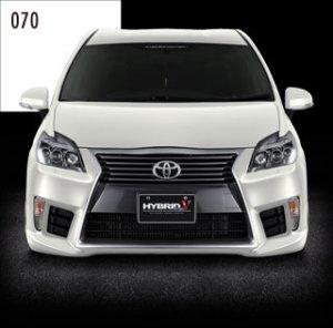 画像1: 送料無料 フロントバンパースポイラー4カラー塗装品 【ZVW30プリウス トヨタ】 AIMGAIN・エイムゲイン HYBRID Type-V