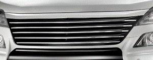 画像1: フロントグリル 塗り分け塗装品【トヨタ ヴェルファイア ANH/GGH20・25W 後期】シルクブレイズ/GLANZEN・グレンツェン ディバイドペイントエディション