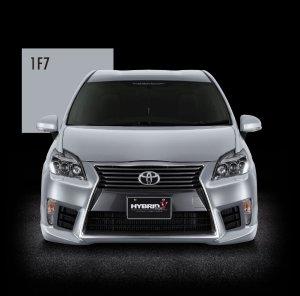 画像2: 送料無料 フロントバンパースポイラー4カラー塗装品 【ZVW30プリウス トヨタ】 AIMGAIN・エイムゲイン HYBRID Type-V