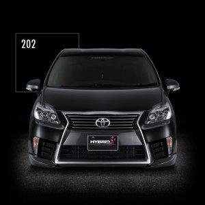 画像4: 送料無料 フロントバンパースポイラー4カラー塗装品 【ZVW30プリウス トヨタ】 AIMGAIN・エイムゲイン HYBRID Type-V