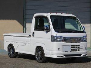 画像4: ドアミラーメッキカバー 【アクティ トラック HA8/  HA9 HONDA】 J-NEXT・エアロパーツ