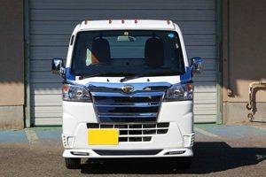 画像2: メッキグリル2段 【ハイゼットジャンボ、ハイゼットトラック  S500P/S510P ダイハツ】 J-NEXT・エアロパーツ