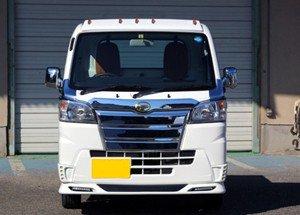 画像2: フロントスポイラー(LED付)塗装品 【ハイゼット S500P/S510P】 J-NEXT・エアロパーツ