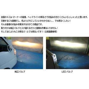 画像2: LEDヘッドライトキットH4 Hi/Lo 切り替え 6000K相当  【アクティ ホンダ】HONDA  J-NEXT・ジェイネクスト