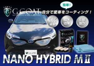 画像1: 送料無料 ガラスコーティング剤 次世代型 【ナノハイブリッドMII】 G-COAT・ジーコート 手洗い洗車向き