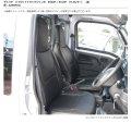 送料無料 革調シートカバー 【ダイハツ ハイゼットトラック/ジャンボ S200P/S210P/S201P/S211P】 Azur・アズール 車種専用 運転席・助手席セット