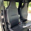送料無料 革調シートカバー 【スズキ スーパーキャリィDA16T H30/4〜 ヘッドレスト一体型】 Azur・アズール 車種専用 運転席・助手席セット