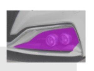 画像2: ダブルLEDランプキット 【トヨタ クラウンGWS224・ARS220・AZSH2# RS】 J-ユニット   ICE-BLUE