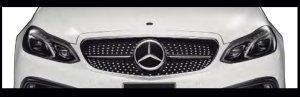 画像2: ダイヤモンドグリル 【メルセデス ベンツE-class W212 '13y〜'16y】 WALD