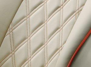 画像3: シートカバー ダイヤキルトコレクション【Volkswagan・フォルクスワーゲン GOLF5】ELDINE・エルディーネ 車種専用 1台分セット