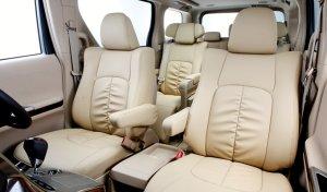 画像1: 【トヨタ エスティマ MCR30W/MCR40W/ACR30W/ACR40W H12/1〜H17/12】Clazzio・ クラッツィオ 車種専用シートカバー ラグジュアリータイプ  1台分セット