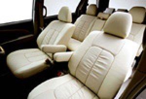 画像2: 【ホンダ アコードワゴン CF6/CF7/CH9】Clazzio・クラッツィオ 車種専用シートカバー 本革パンチングタイプ