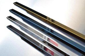 画像1: 送料無料【ニッサン Y33セド/グロ】グロウ ステンレスドアモール カラー鏡面HYPER  4Pセット