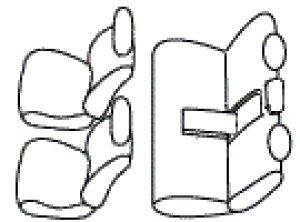 画像4: 送料無料【トヨタ クラウン ロイヤル200系】オートウェアシートカバー エアーメッシュ